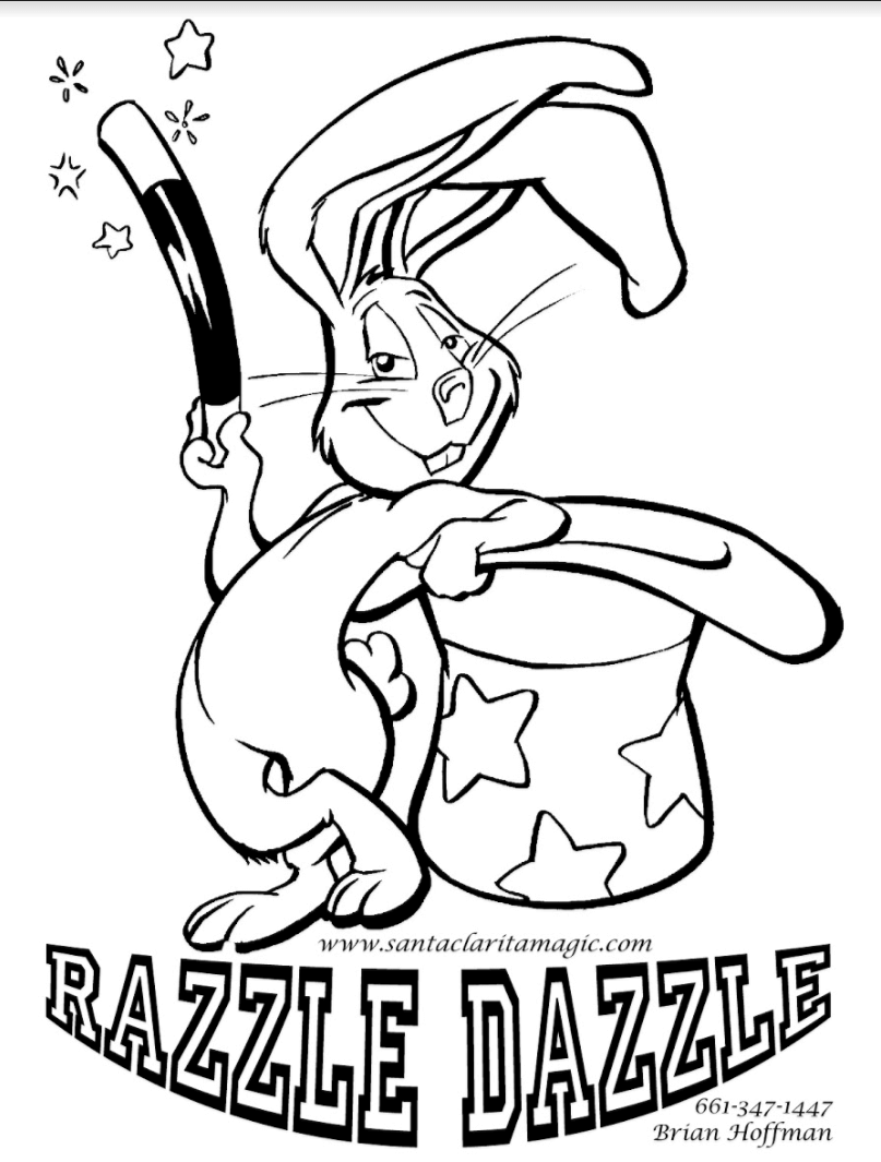 dazzle coloring pages for children - photo#2
