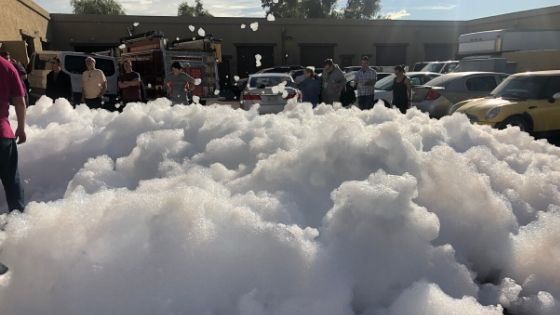 Foam Parties for kids.