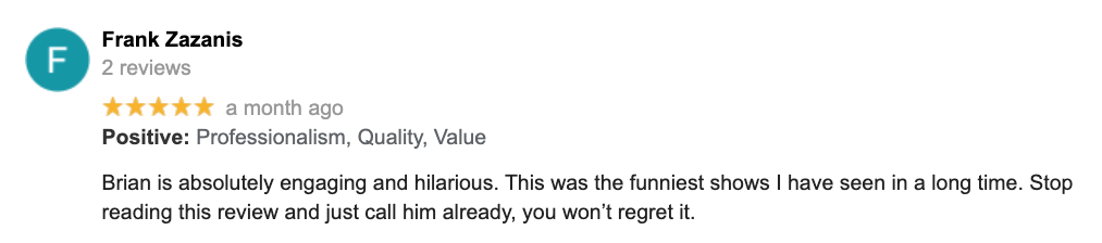Engaging-Hilarious-Review