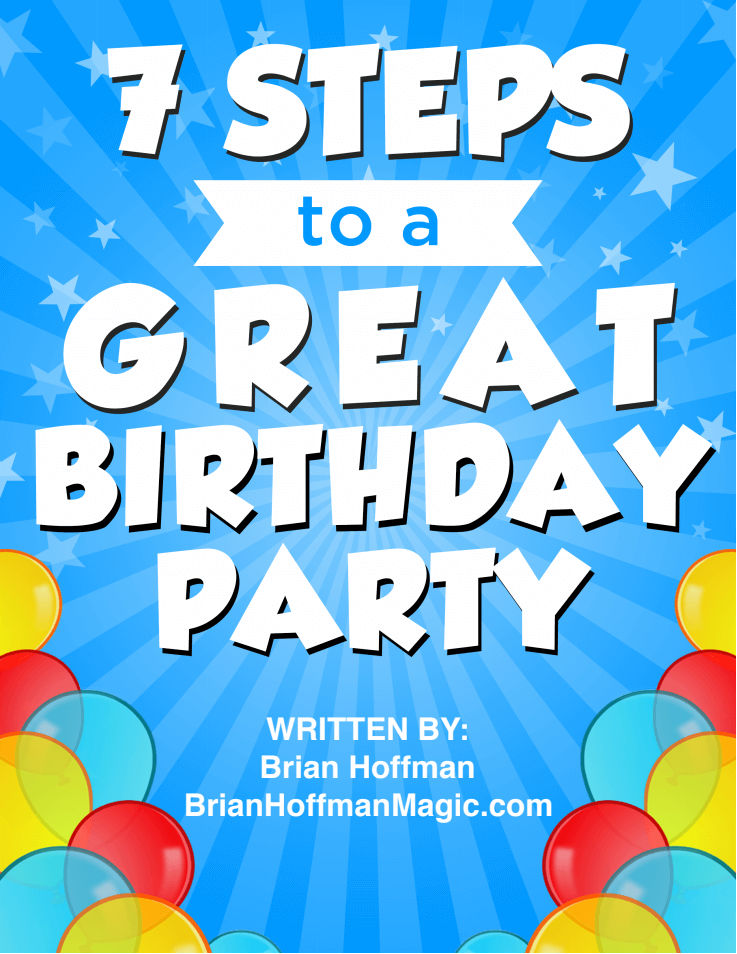 7 Steps to a Great Birthday Party